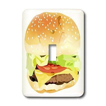 lsp_43705_1 Florene Décor II - Giant Hamburger n Bun - Light