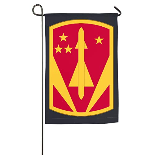 US America 31st Air Defense Artillery Brigade Seasonal Garden Flag Festive Flags Small Outdoor Flags