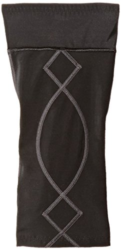 (CW-X Conditioning Wear Women's Stabilyx Knee Support, Small, Black/Charcoal)