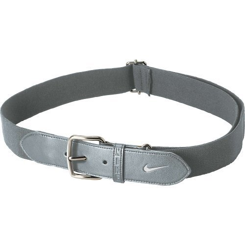 Nike Youth Baseball Belt (Blue Grey/White, Osfm)