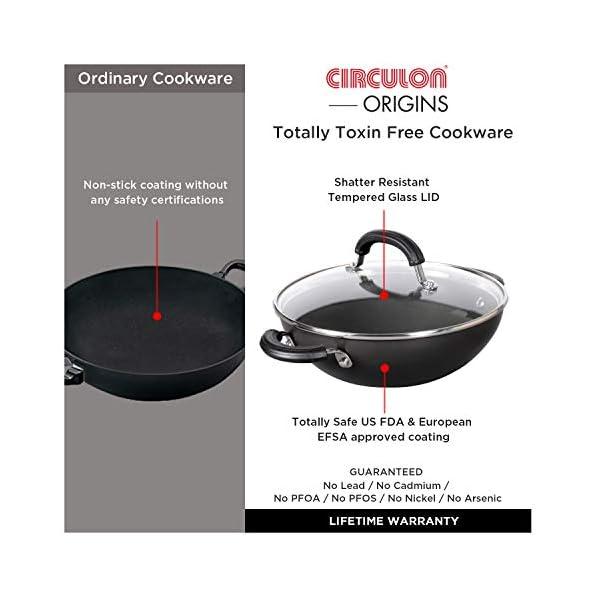 Circulon-Origins-Non-Stick-Hard-Anodized-Kadhai-20cm-Small