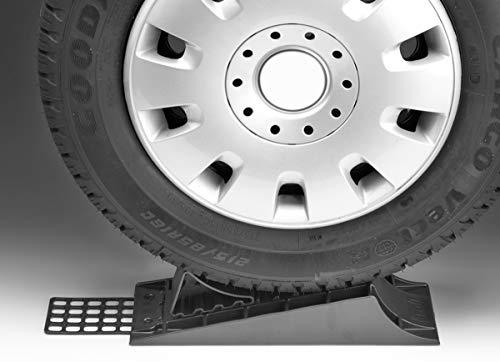 41roPBPzLoL Froli Auffahrkeil für Wohnwagen, Reisemobil, Wohnmobil und Camper, 3-teiliges Set, 1x Standardkeil, Parkstopper…