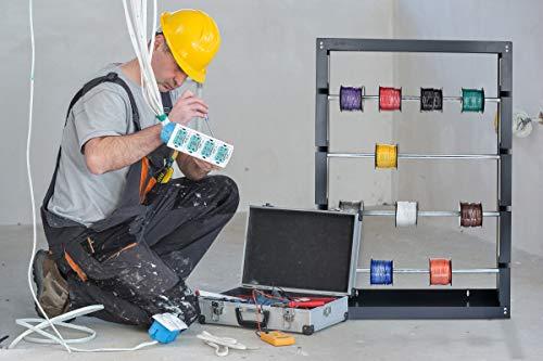 sam pievac 6002 735 electrical tape rack wire display for. Black Bedroom Furniture Sets. Home Design Ideas