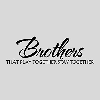 Amazon Brothersother Wall Quotes Words Sayings Removable