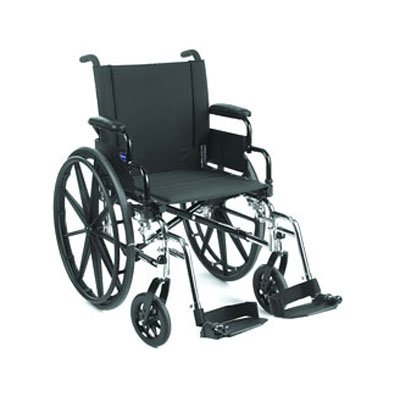 Invacare 9000 XT Wheelchair - With Leg Rests (INV93HA) (Invacare Xt 9000 Wheelchair)