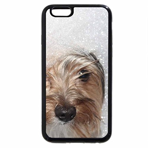 iPhone 6S / iPhone 6 Case (Black) Dog and bath
