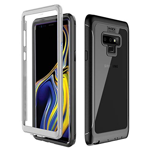 Samsung Galaxy Note 9 Case, AIYUE Built-in Anti-Scratch Screen Protector, 360 Degree Full Body Protection, Shock Drop Proof Rugged Durable Case for Samsung Galaxy Note 9