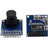 2pcs AL422 FIFO LDO Active crystal OV7670 image sensor module camera module Ov7670