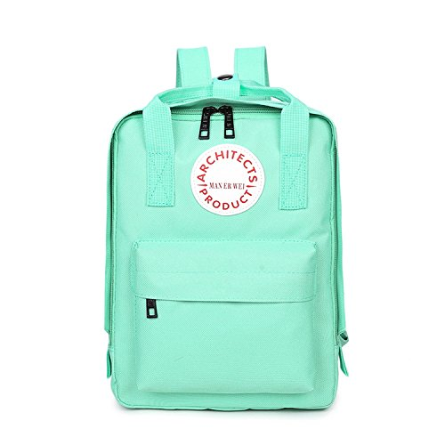 (School Bags Girls Backpacks Women Backpack Children Shoulder Bag Teenagers Oxford Travel Bags Green 30X12X38Cm(Lxwxh))