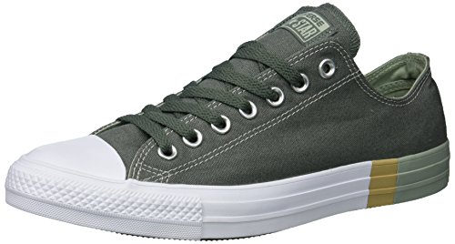 Converse Mens Chuck Taylor All Star Intersuola Tri-block Low Top Sneaker River Rock / Surplus Salvia / Bianco