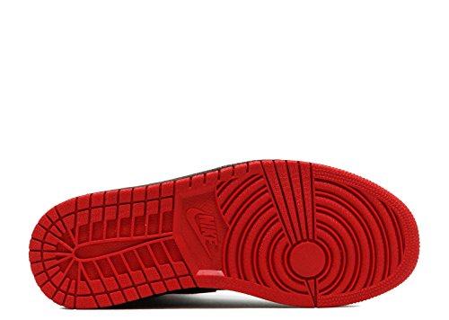 Nike Air Jordan 1 Retro High Møre Og Q54 Menns Basketball Trenere Ah1040 Joggesko Sko Svart, Italia Blå - Universitet Rød
