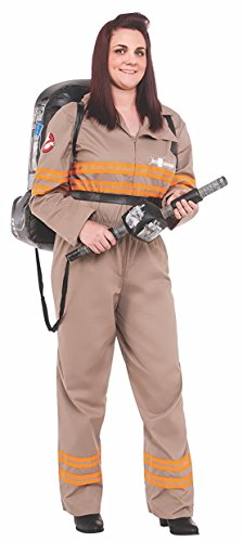 Womens Halloween Costumes From Movies (Rubie's Women's Ghostbusters Movie Deluxe Plus Costume, Multi, One Size)