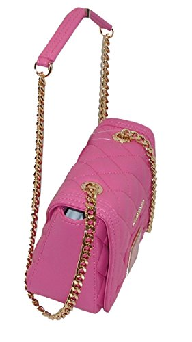 Borsa Love Moschino mini SHOULDER BAG JC4013 woman NAPPA pu trapuntato rosa