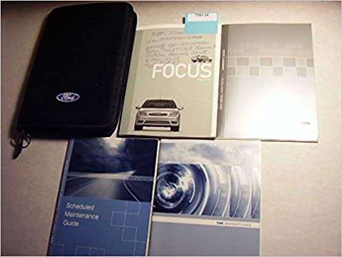 Ford Focus Owners Manual Guide Sj A With Oem Case Ford  Amazon Com Books