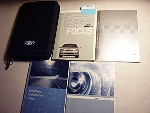 2007 ford focus owner s manual guide 7s4j 19a321 with oem case ford rh amazon com 2007 ford focus owners manual uk 2007 ford focus owners manual australia