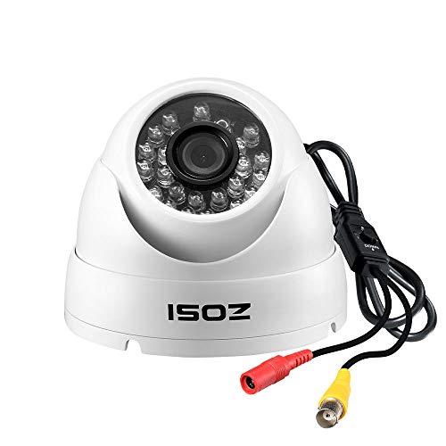 ZOSI 2.0 Megapixel HD 1080P 4-in-1 TVI/CVI/AHD/CVBS CCTV Home Surveillance Weatherproof Security Cameras,65ft(20m) IR Distance, Compatible for HD-TVI, AHD, CVI, and CVBS/960H Analog DVR (White)