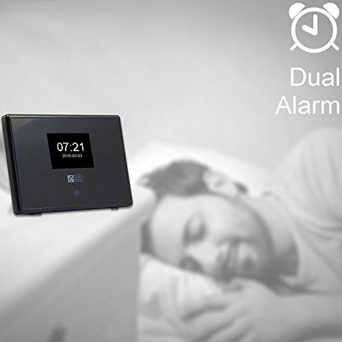 Ocean Digital WiFi Internet Radio Adapter Tuner Receiver IRT01C Wireless Connection Desktop Media Player Alarm Clock- Black by Ocean Digital (Image #5)