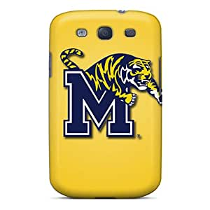 Galaxy Case - Tpu Case Protective For Galaxy S3- Memphis Tigers