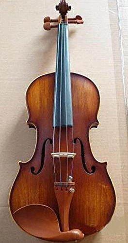 Pro Stradivarius, Full Size- 4/4-violin/fiddle Flamed Ebony String, Case BOX