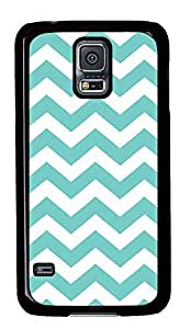 top Samsung Galaxy S5 covers Blue Chevron PC Black Custom Samsung Galaxy S5 Case Cover