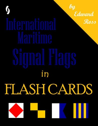 (International Maritime Signal Flags in Flash Cards)