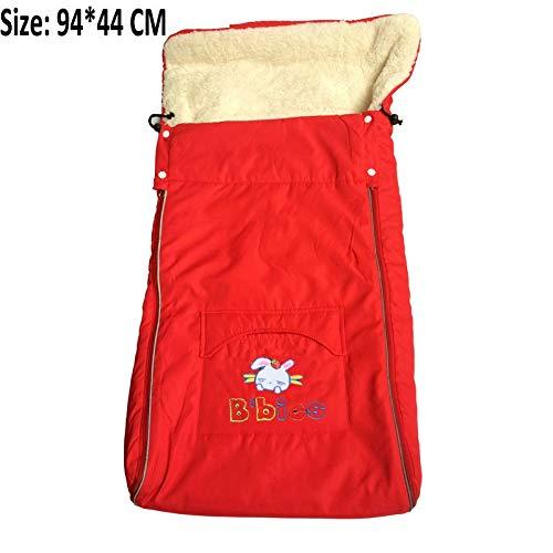 $54.96 Target Infant Car Seats Baby Sleeping Bag for Stroller Warm Winter Newborn Envelope Kids Thick Foot Cover for pram Wheelchair Infant Stroller footmuff 2019