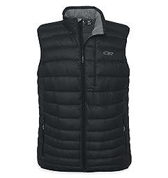 Outdoor Research Men\'s Transcendent Vest (Black, Small)