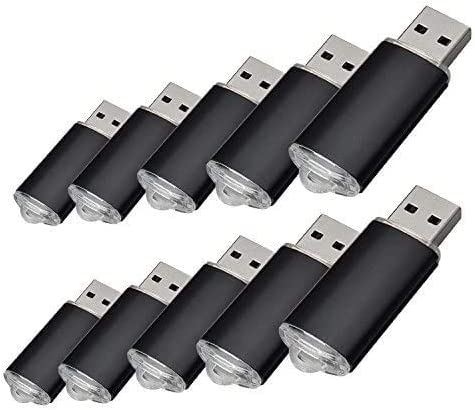 TALLA 2 GB. 10pcs 2 G USB flash drive usb 2.0 Memory Stick Pen Drive de disco de memoria (2.0 GB)