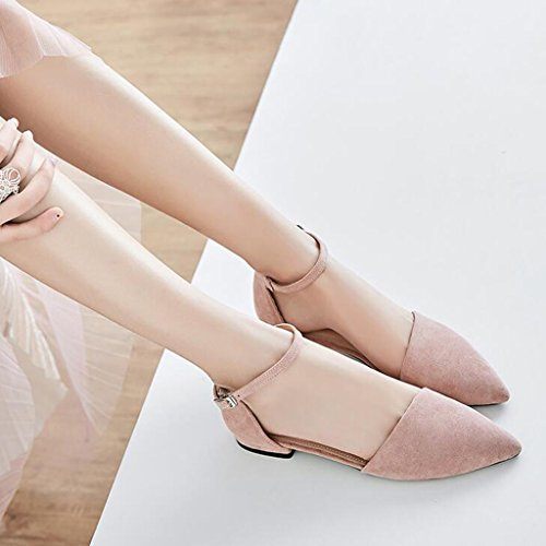 Sandals Summer Frosted Uppers Wrap Toe Student Shoes Women's Shoes Flat Shoes 4 BPPe5trsA