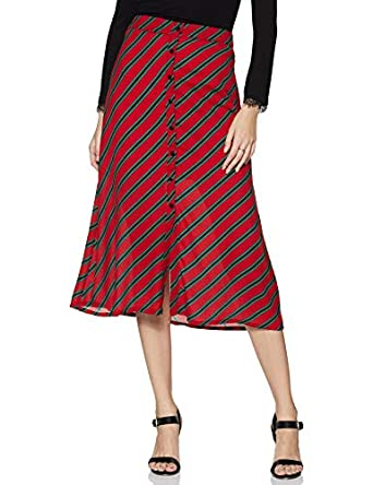 Amazon Brand - Eden & Ivy Synthetic a-line Skirt