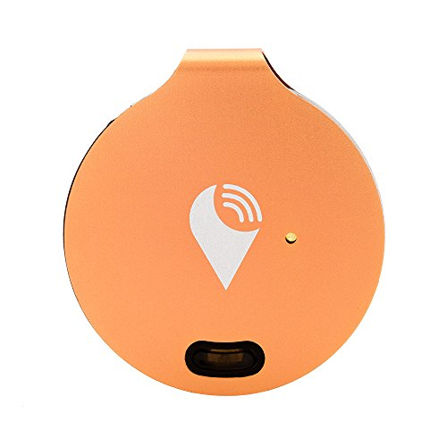 TrackR bravo - Bluetooth Tracking Device. Key Tracker. Phone Finder. Wallet Locator. Generation 3, 1 Pack - Rose Gold