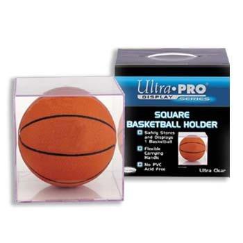 (Ultra-Pro Square 2-piece Basketball Holder)