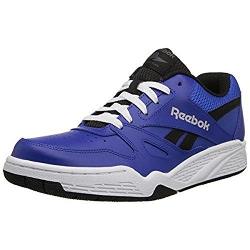 Reebok Men's Royal BB4500 Low Basketball Shoe, Collegiate Royal/Black/Steel/White, 10.5 M US