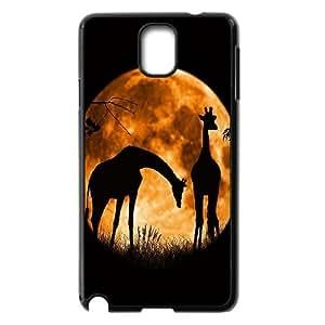 Best Quality [LILYALEX PHONE CASE] Giraffe Pattern For Samsung Galaxy NOTE3 CASE-1