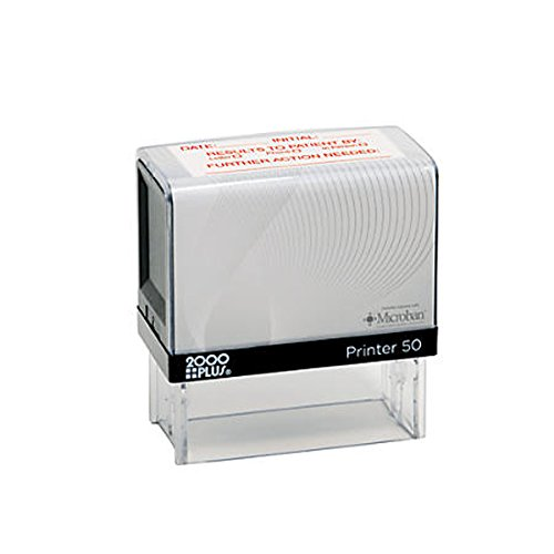 Cosco 2000 Plus Printer 50 Message Stamp up to 7 Lines.Stamp is Perfect for Bank Endorsement, Return Address or Custom messageself Inking ()