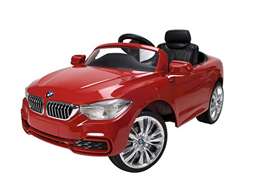 Red BMW 4 Series Convertible Ride On by Huffy (Bmw Convertible Toy Car)