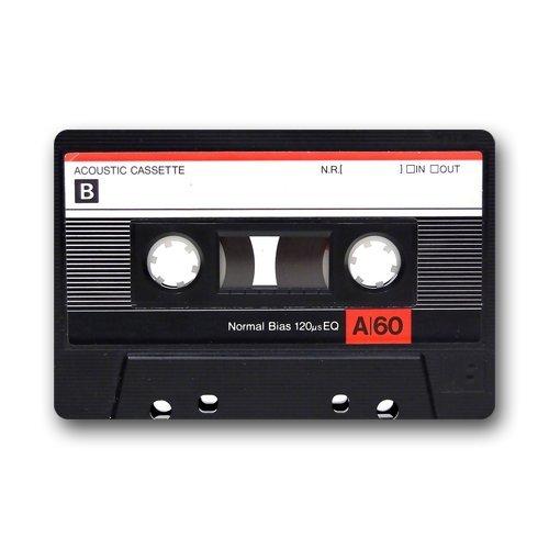 Phavorest Felpudos Personalizados Cassette Cinta de m/úsica Cubierta Antideslizante Lavable a m/áquina Interior y Exterior para Cuarto de ba/ño decoraci/ón de la Cocina Alfombra