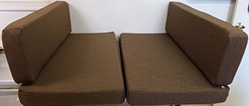 Cushion Booth (RV Trailer Dinette Booth Bench Seat Cushion Covers Cinnamon (New) (38