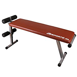 ScSPORTS Trainingsbank Klappbare, rot, 1150015