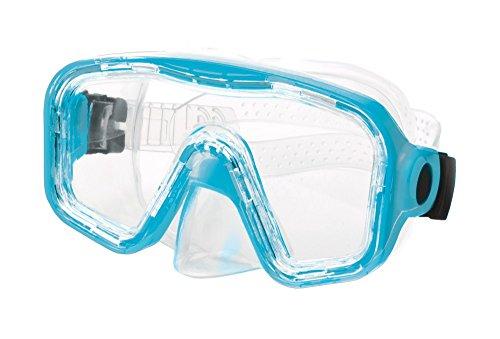 Body Glove Malta Adult Dive Mask, Aqua, Large ()