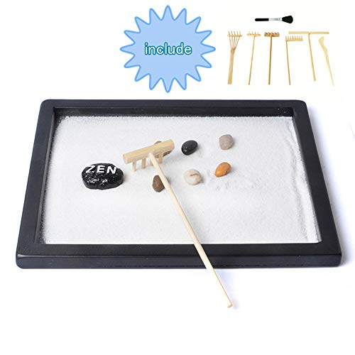 tabletop zen garden kit - 7