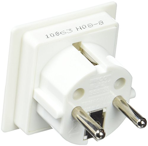 European Adaptor Earthed