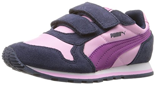 PUMA Girls' ST Runner NL V PS Sneaker, Pastel Lavender/Puma White, 1.5 M US Little (Kids Puma Shoes)
