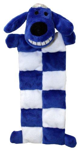 - Multipet Loofa Hanukkah Squeaker Mat Dog Toy, 12-Inch