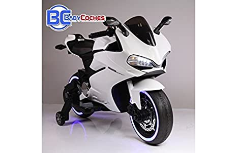 BC BABY COCHES BC Babycoches-Moto electrica 12 V para Niños Ducati Style Superbike,