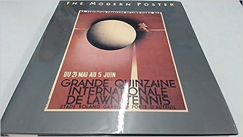 Book Modern Poster