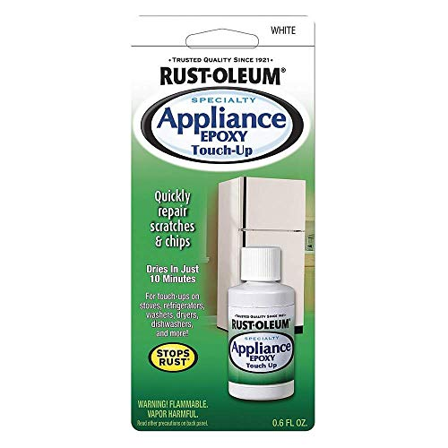 (Rustoleum 20300 0.6 oz. Appliance Touch-Up, White)