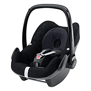 maxi cosi pebble group 0 car seat total black 2014. Black Bedroom Furniture Sets. Home Design Ideas