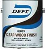 Deft 01001 Clear Wood Finish Lacquer 1gal - Gloss (Pack Of 4)