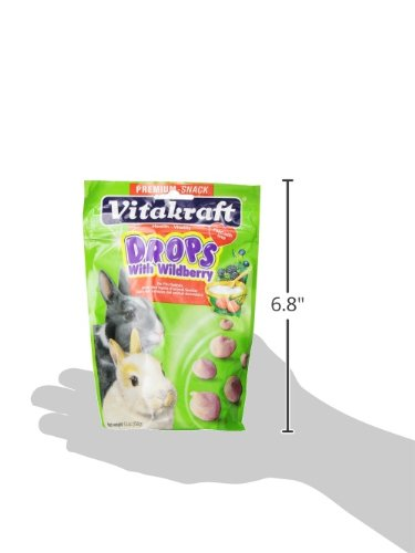 Pictures of Vitakraft Rabbit Drops With Wild Berries Treat 25443 2